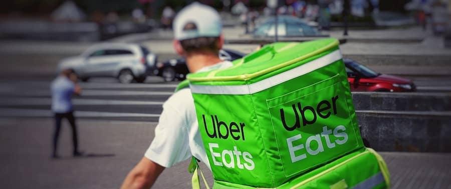 Uber eats passive income