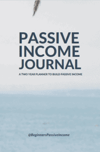 passive income journal tracking