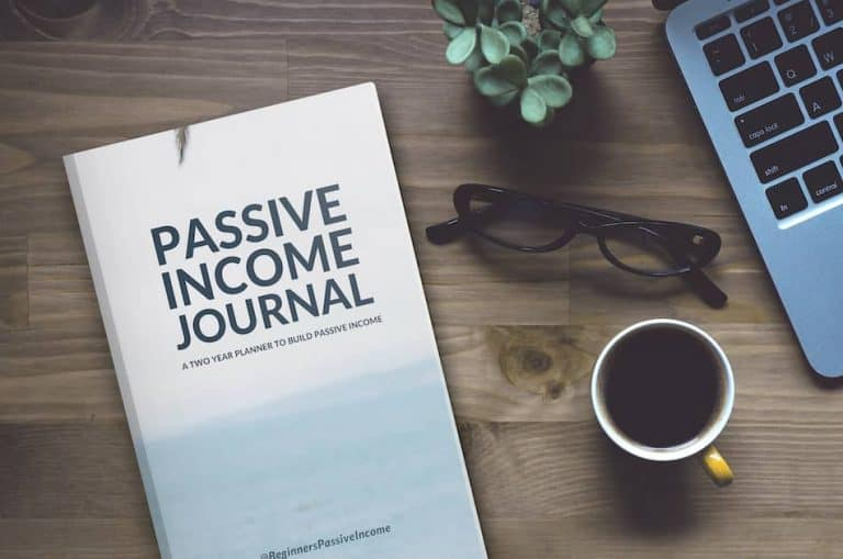 Passive Income Tracker Journal